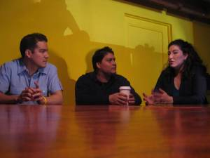 KUT: Local businesspeople discuss the role of Hispanic businesses in Austin. Photo courtesy of Mose Buchele.